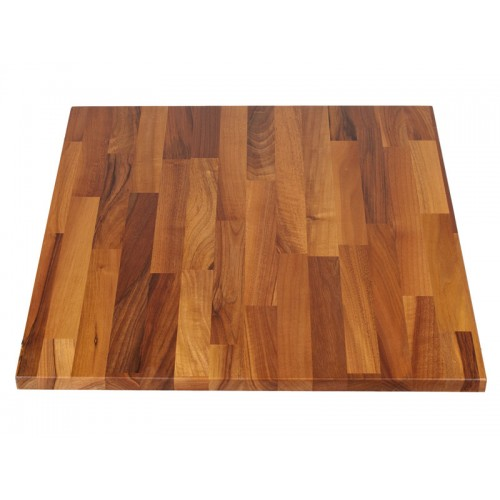 Noten blad butcher block 2,8 cm dik